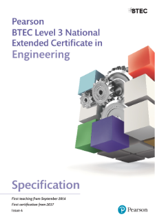 BTEC Level 3 Engineering